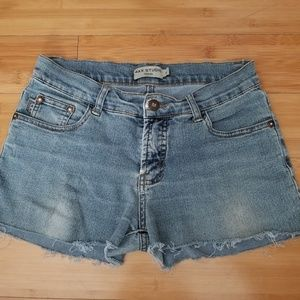 a667c851c3ab Max Studio Shorts - Max Studio Distressed Jeans Shorts